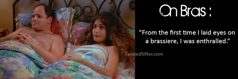 george costanza in bed with a woman The Life Lessons of George Costanza