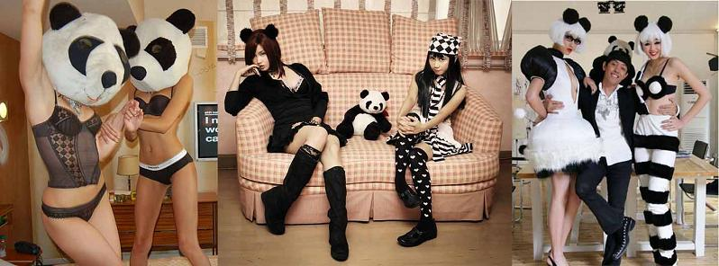 hot-girls-dressed-as-pandas