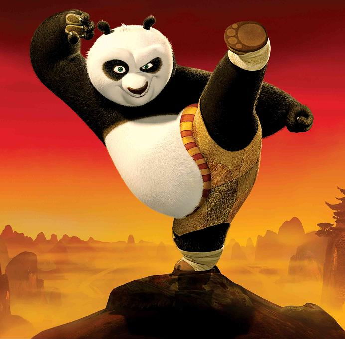 kung fu panda high kick stance 11 Reasons why the Bronze goes to... Pandas!