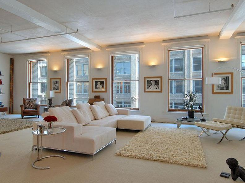luxury condo manhattan nyc soho open concept Ridiculous Open Concept Luxury Loft in SoHo