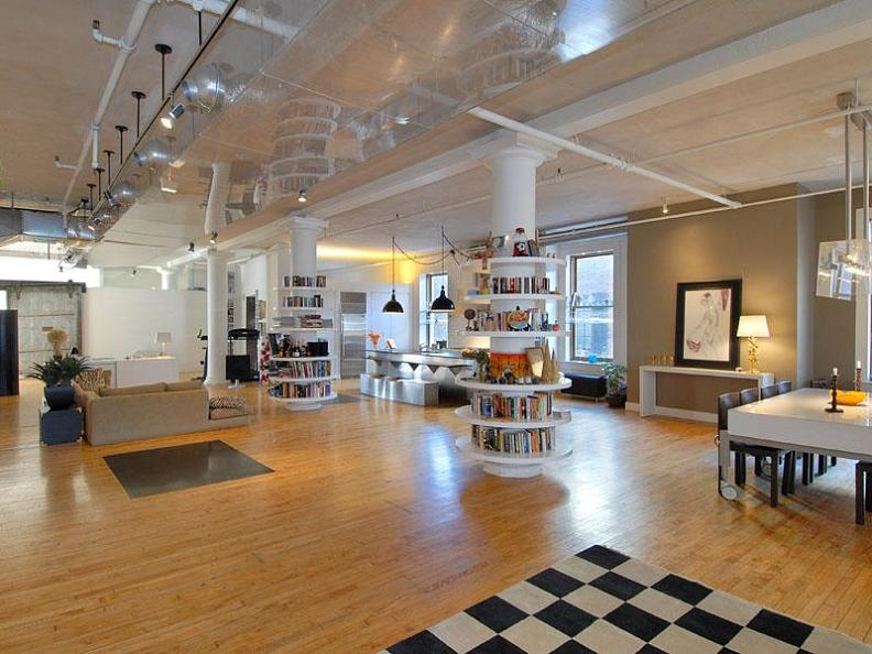 ridiculous open concept luxury loft in soho twistedsifter ForOpen Concept Loft