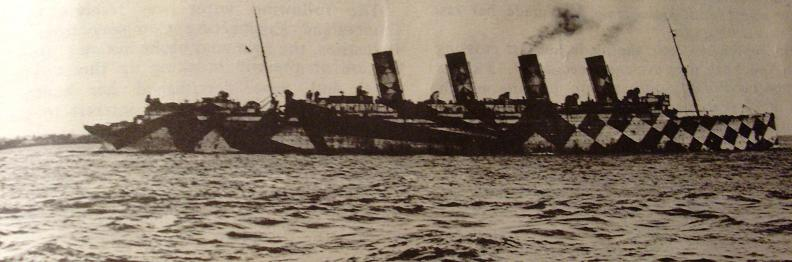 razzle dazzle boat The History of Razzle Dazzle Camouflage