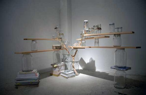 tree-branch-art-in-big-jars-naoko-ito