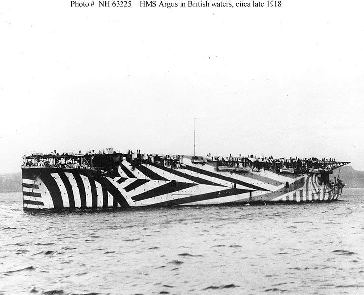 world war 1 dazzle camouflage The History of Razzle Dazzle Camouflage
