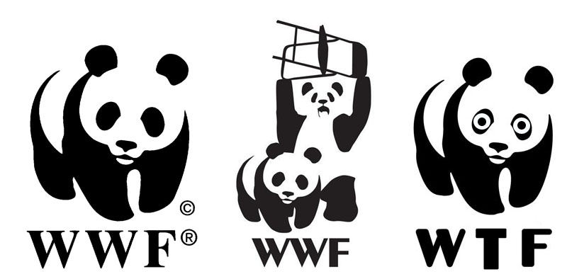 wwf panda logos 11 Reasons why the Bronze goes to... Pandas!