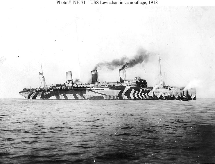 wwi razzle dazzle ship The History of Razzle Dazzle Camouflage