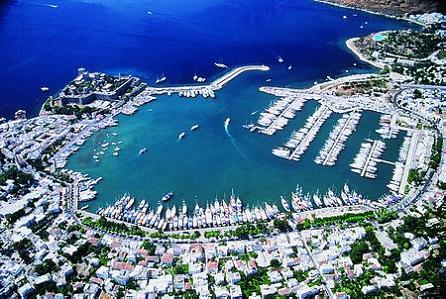 aerial of bodrum turkey How to Build a Mansion When the Law Prohibits It