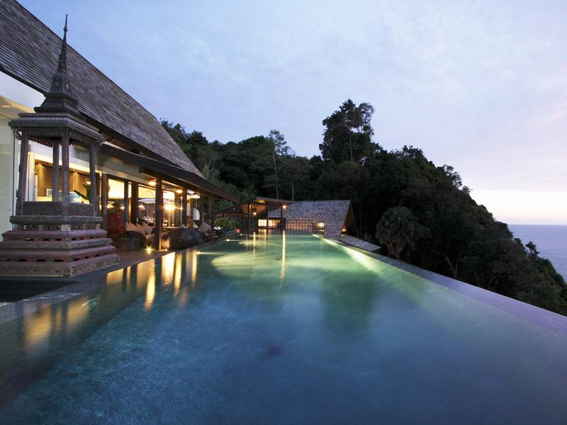 amazing infinity pool thailand What a Mansion in Thailand Looks Like
