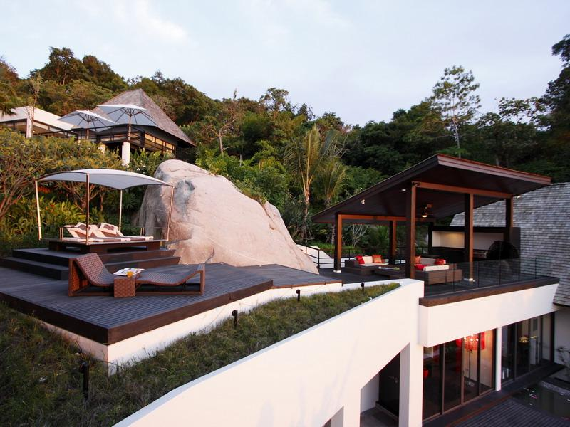 amazing rooftop terraces thailand What a Mansion in Thailand Looks Like