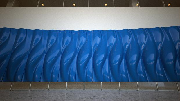 Living Lobby Art: The HP Manilfold byTronic