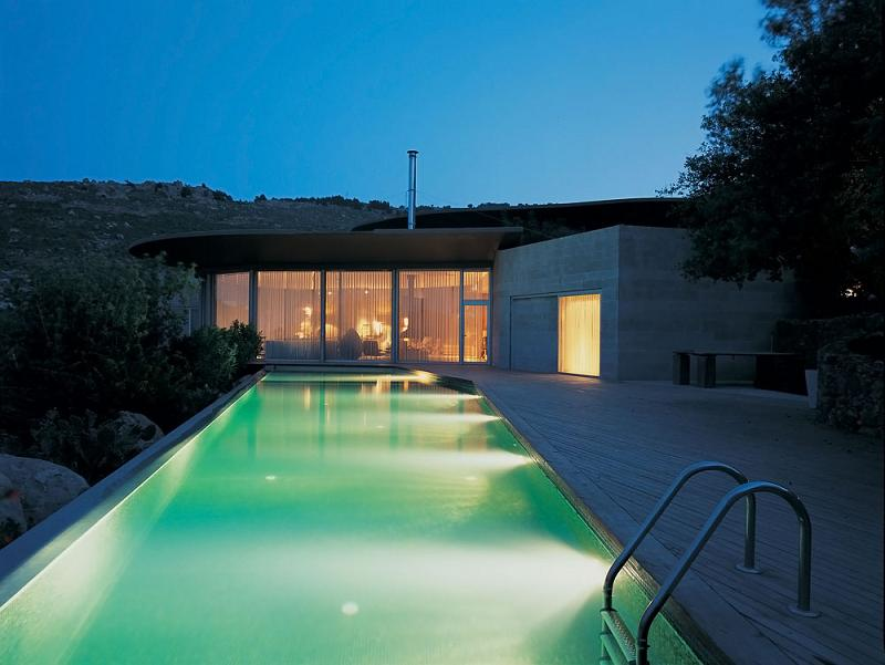beautiful long swimming pool in bodrum turkey How to Build a Mansion When the Law Prohibits It