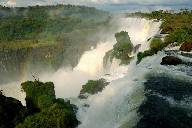 beautiful waterfall photograph Iguazu Falls: 15 Amazing Pictures, 10 Incredible Facts