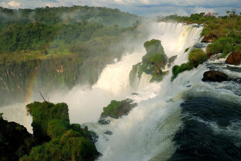 beautiful waterfall photograph Iguazu Falls: 15 Amazing Pictures, 10 Incredible Facts