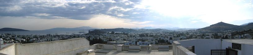 bodrum turkey panoramic How to Build a Mansion When the Law Prohibits It