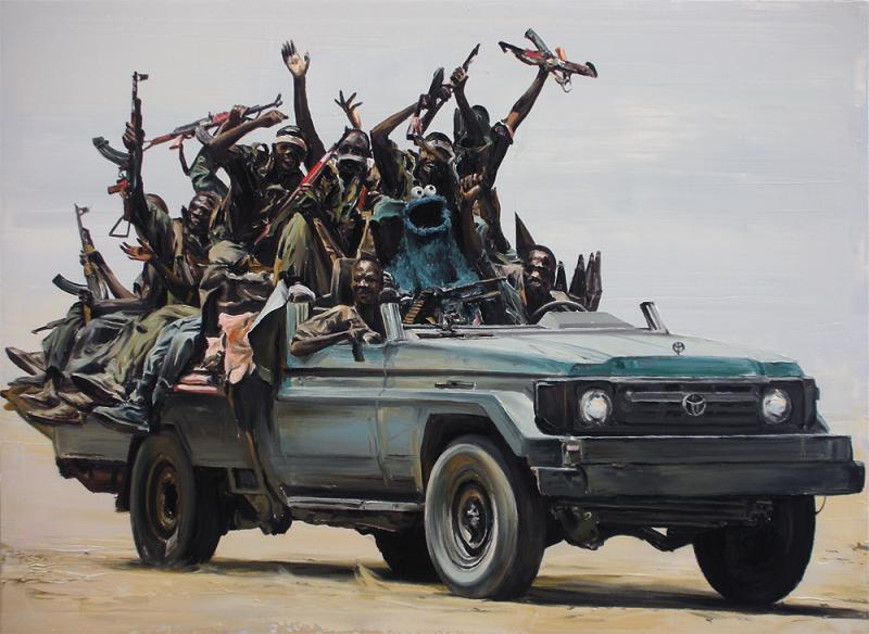 cookie-monster-in-truck-full-of-african-soldiers-rebels