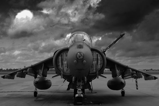harrier jet front facing forward The 10 Greatest Low Pass Flybys of All Time