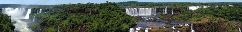 iguazu falls panoramic wide angle Iguazu Falls: 15 Amazing Pictures, 10 Incredible Facts