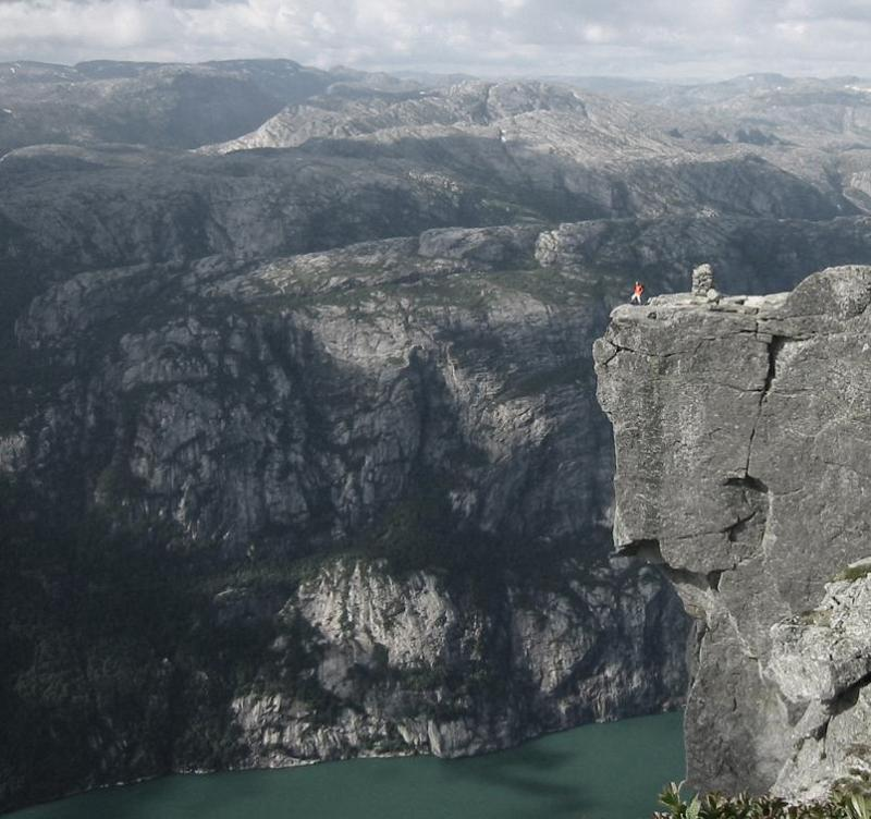 kjerag or kiragg mountain in norway The Stunning Cliffs of Norway