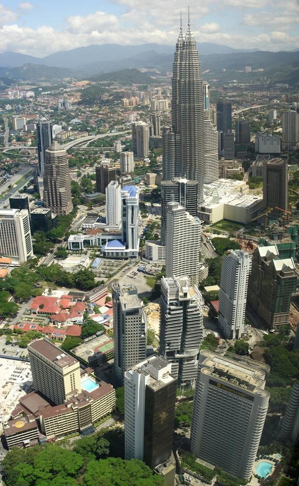 kuala lumpur malaysia vertical panoramic of city Vertical Panoramic Photography: 15 Breathtaking Examples