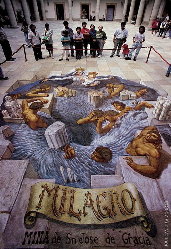 kurt wenner street art The Inventor and Master of 3D Sidewalk Chalk Art   Kurt Wenner