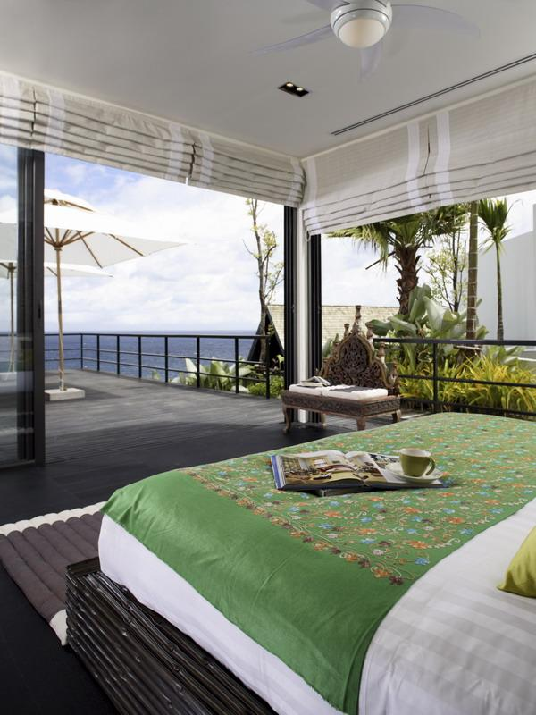 open concept bedrom in thailand What a Mansion in Thailand Looks Like
