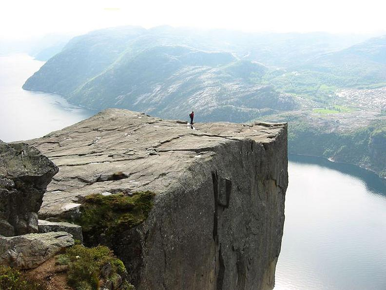 preikestolen pulpits rock preachers rock The Stunning Cliffs of Norway