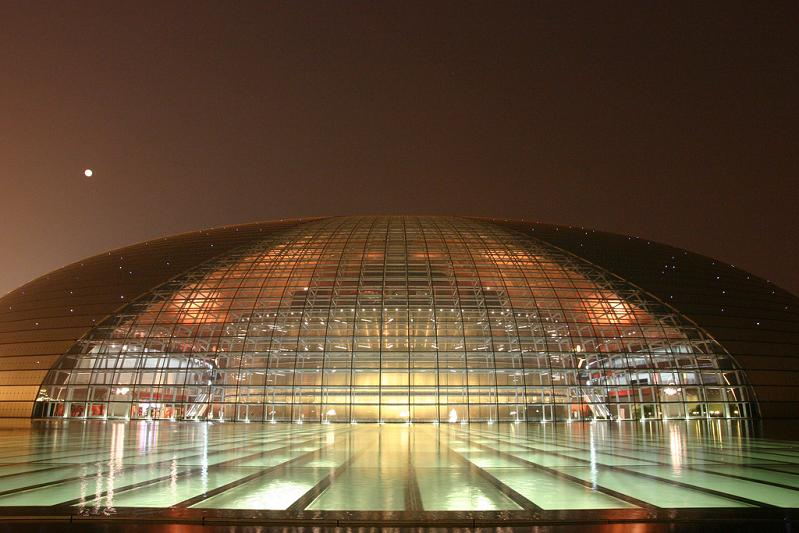 the egg building in beijing china The Egg Building in China   National Centre for Performing Arts
