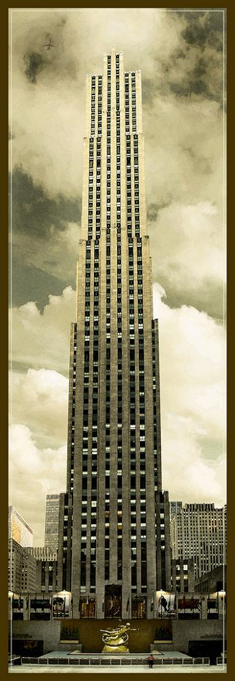 the rockefeller center new york city vertical panorama Vertical Panoramic Photography: 15 Breathtaking Examples