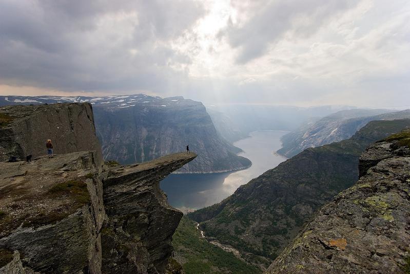 trolltunga norway The Stunning Cliffs of Norway