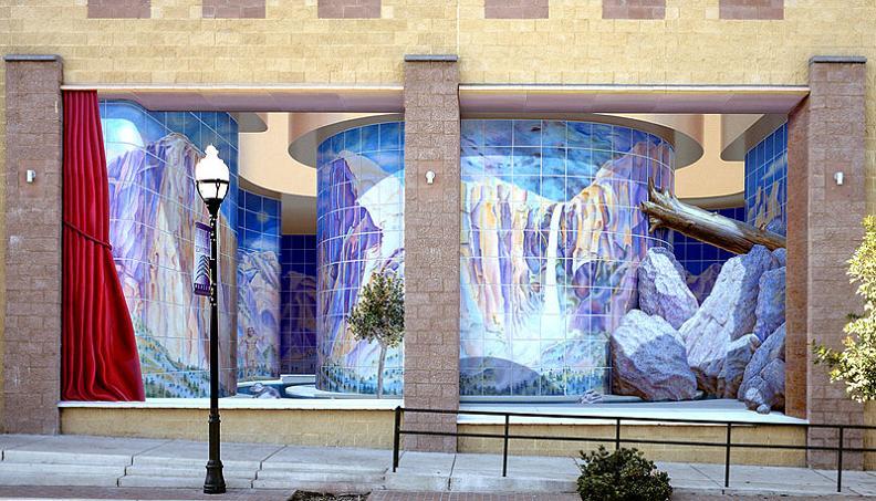 3d mural by john pugh Trompe Loeil: Incredible 3D Wall Art by John Pugh