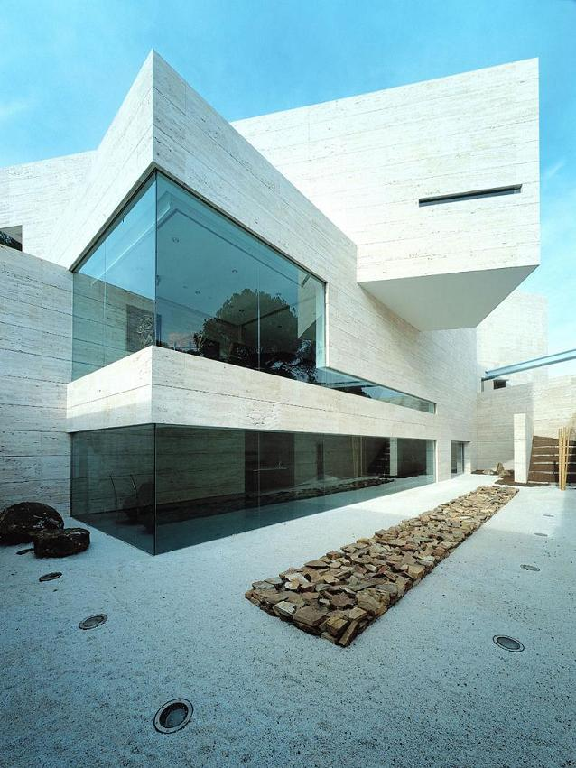 a cero architects Mega Mansion in Madrid by A Cero