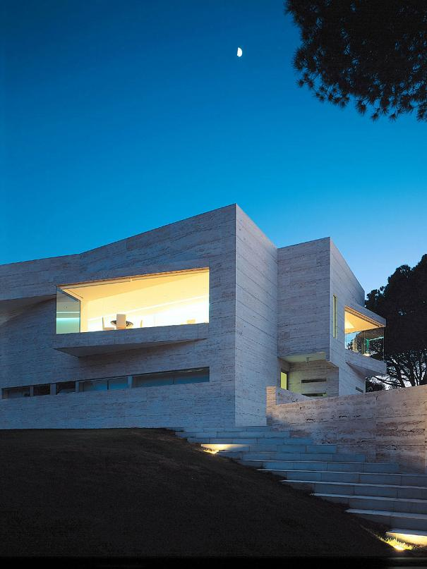 a cero designed house in madrid Mega Mansion in Madrid by A Cero