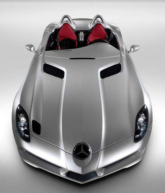 final last mercedes benz slr ever built The Stirling Moss SLR
