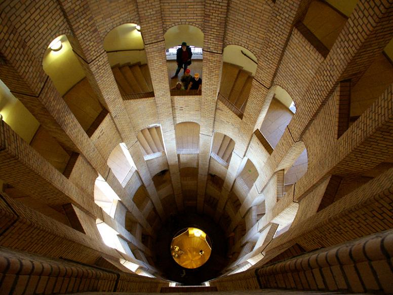 french dome berlin spiral stairs 25 Stunning Images of Spiral Staircases