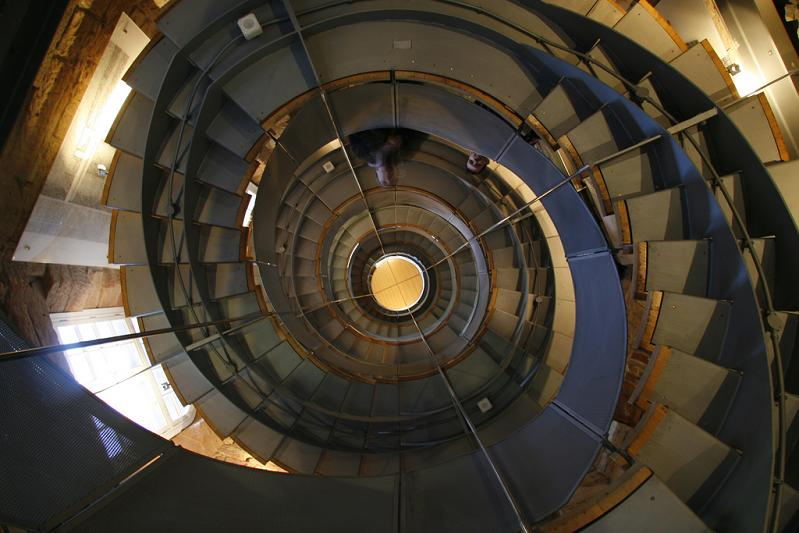 glasgow lighthouse spiral staircase rennie mackintosh 25 Stunning Images of Spiral Staircases