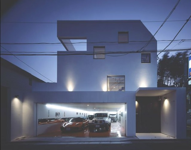 house-with-car-in-living-room