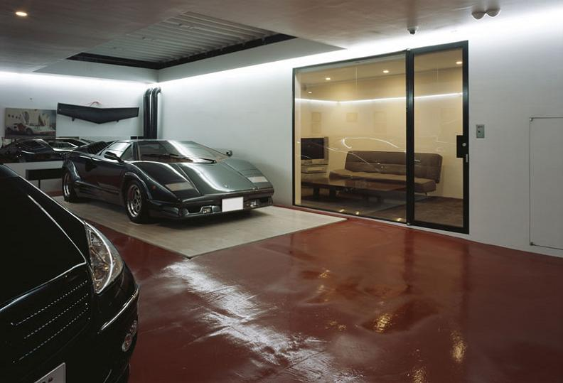 lamborghini-countach-underground-garage-to-living-room