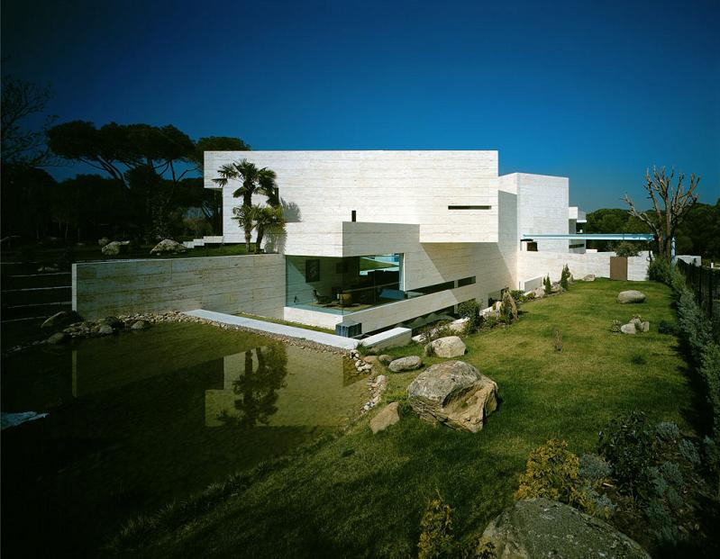 mansion in spain by a cero architects Mega Mansion in Madrid by A Cero