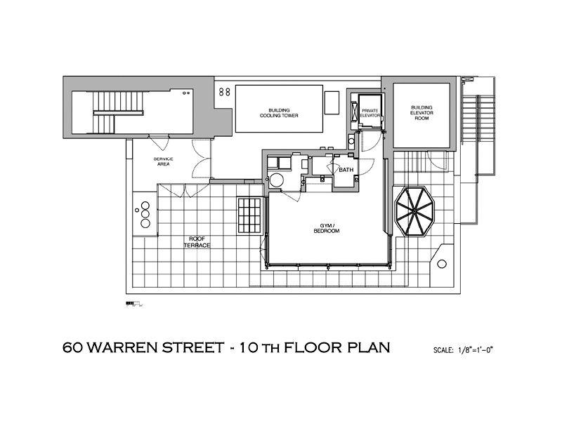 Nyc Townhouse Floor Plans: A Townhouse In The Sky «TwistedSifter