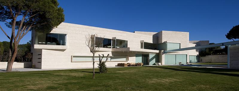 mega mansion in madrid Mega Mansion in Madrid by A Cero