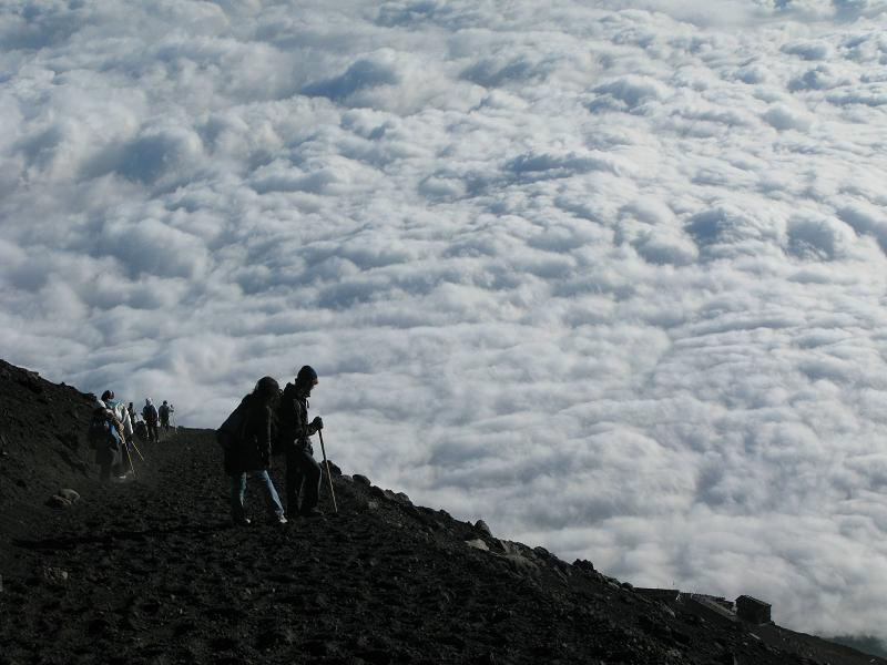 mt fuji above the clouds The Friday Shirk Report   April 9, 2010 | Volume 52