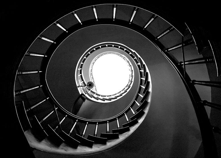octagon house watertown wisconsin 25 Stunning Images of Spiral Staircases
