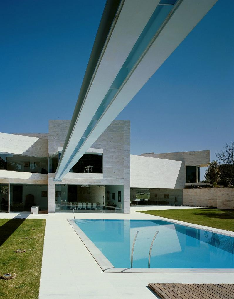 spanish mansion by a cero Mega Mansion in Madrid by A Cero