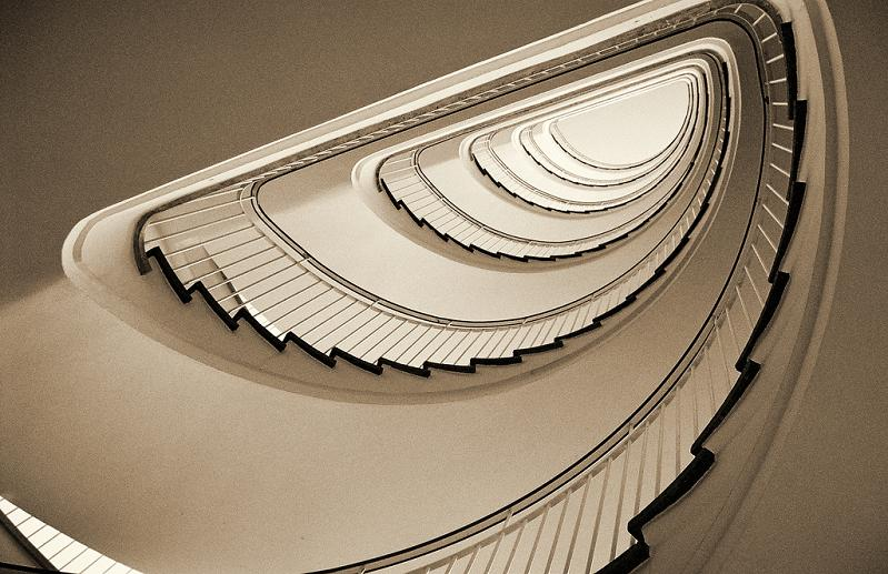 spiral-staircase-from-bottom-looking-up