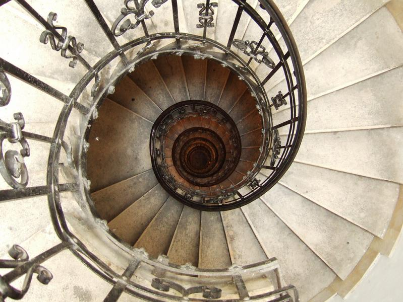 st-stephens-basilica-budapest-spiral-staircase