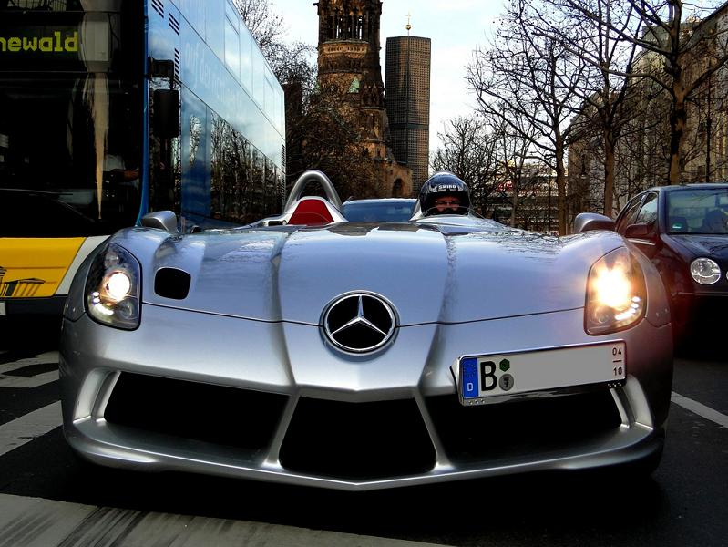 stirling moss mercedes slr spotted on street The Stirling Moss SLR