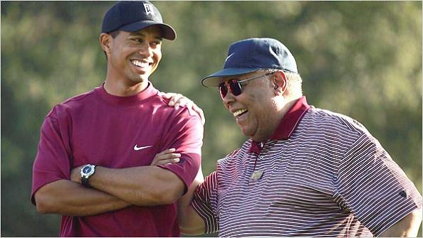 tiger and earl woods father and son The Recurring Marketing Theme: Tiger and his Dad, Earl Woods