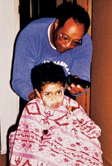 tiger as a kid with his dad The Recurring Marketing Theme: Tiger and his Dad, Earl Woods