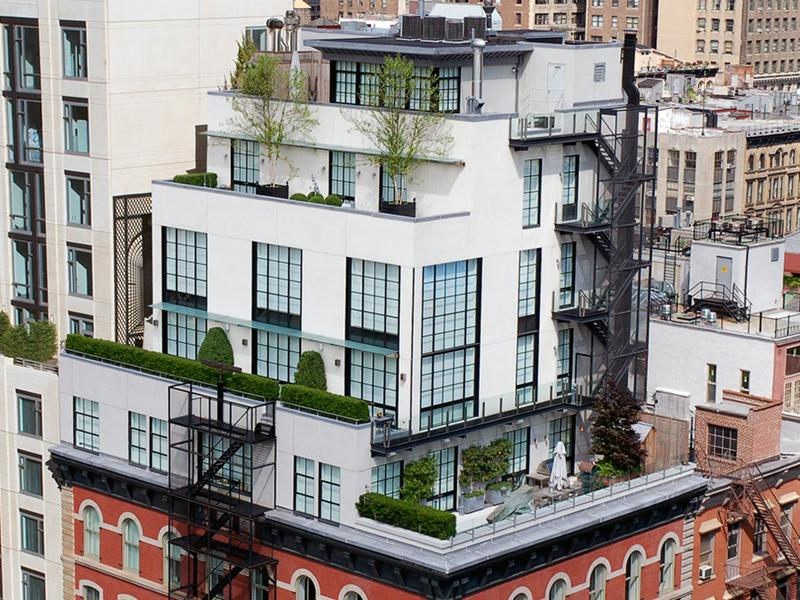 An old clock tower converted into a penthouse twistedsifter for Loft apartments in nyc