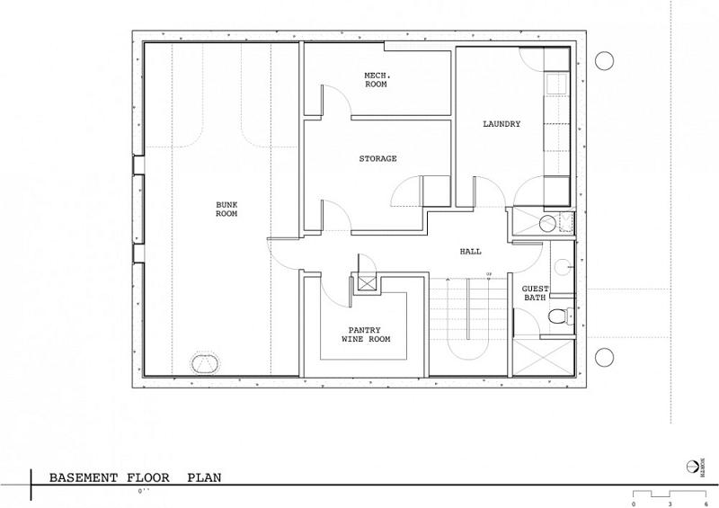 basement floor plan vandeventer and carlanter architects Im On A [House] Boat   Floating Home in Lake Union, Seattle